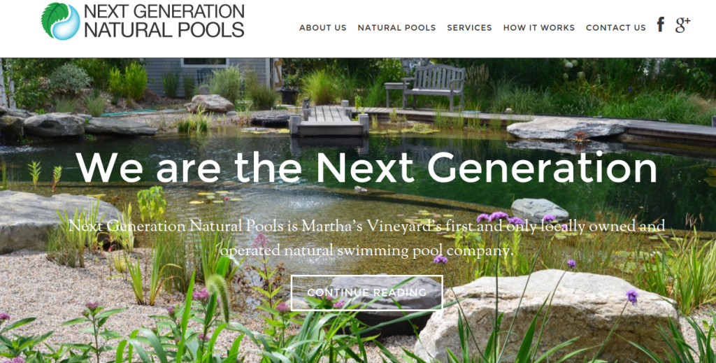 Next Generation Natural Pools